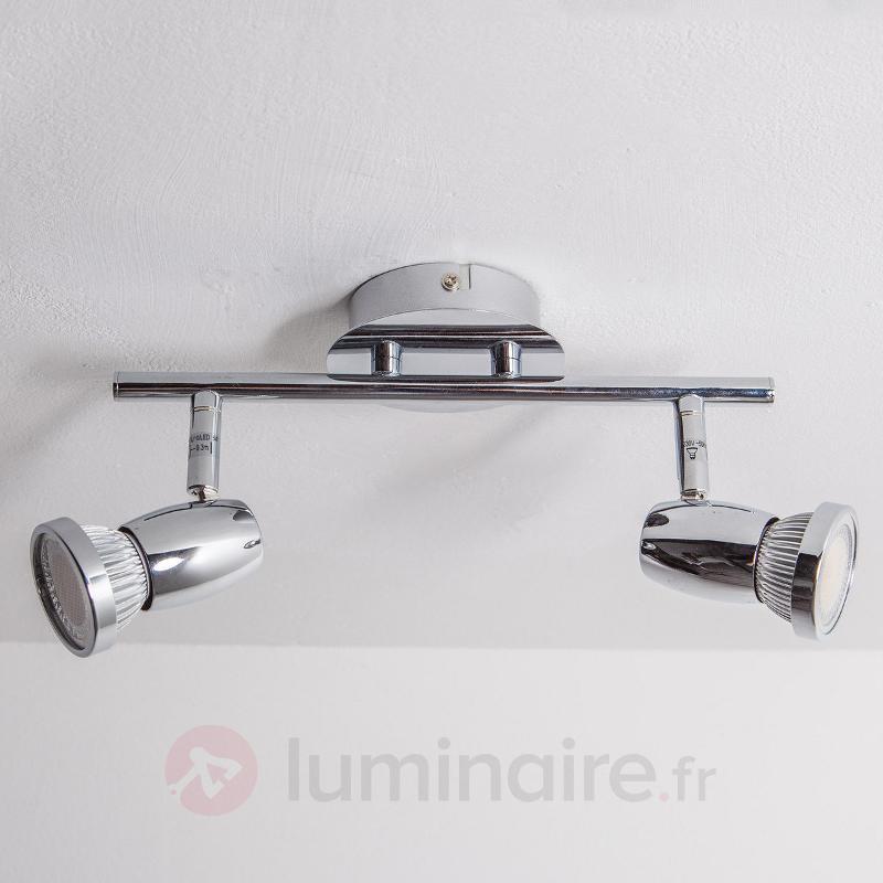 Plafonnier LED Arminius, 2 lampes - Plafonniers LED