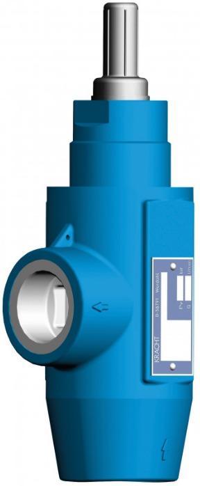 Soupape de décharge DBD - Distributeur à clapet piloté directement à monter dans les conduites de tuyaux