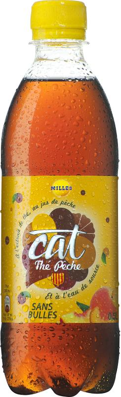 Cat Thé Pêche 50 cl - Boissons