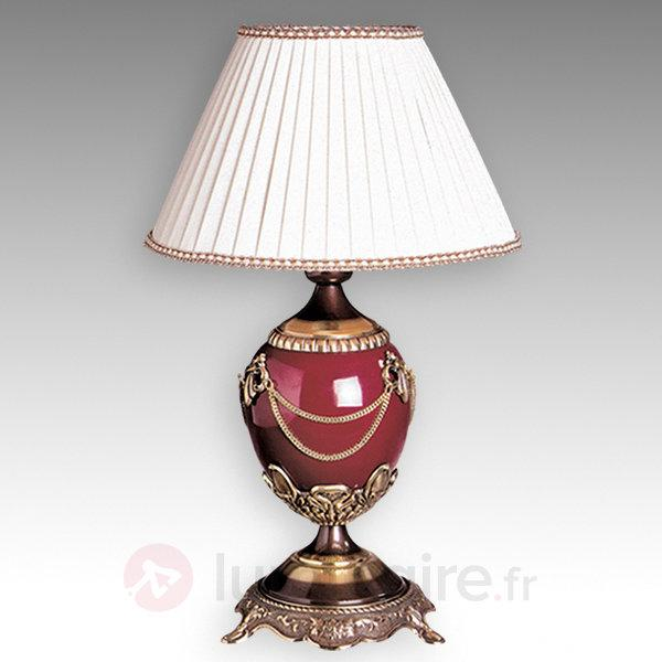 Belle lampe à poser Prestige - Lampes à poser en tissu