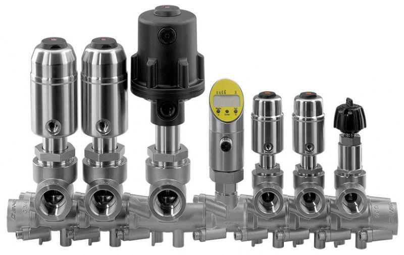GEMÜ 553 - Модульный распределительный клапан