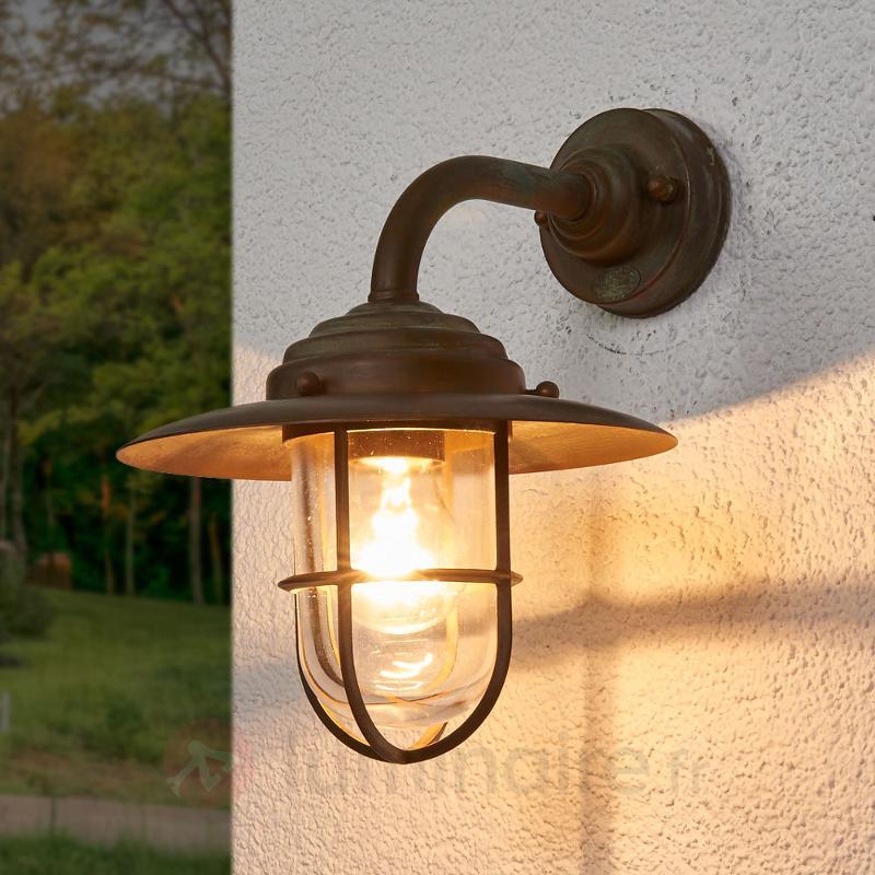 Applique d'extérieur raffinée Antique - Appliques d'extérieur cuivre/laiton