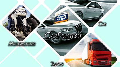 NANO4-CARPROTECT - Invisible protection , sealing ,easy to clean for external car paint surfaces