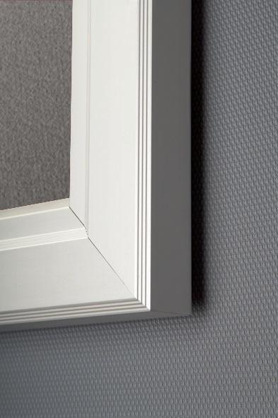 Show Boards - Vitrine waterproof avec feutre gris