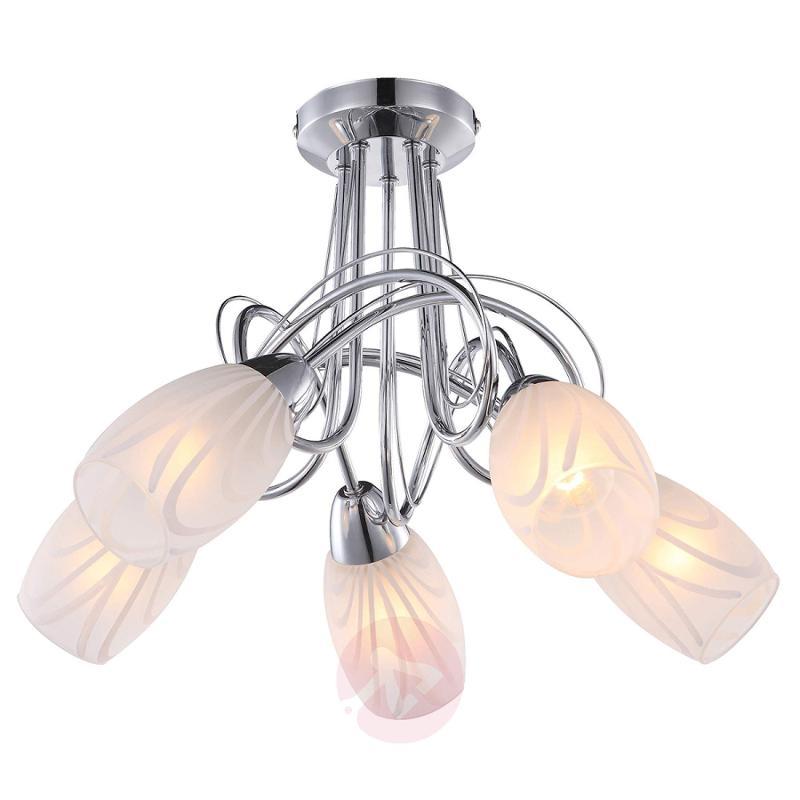 5-bulb ceiling light Reana - indoor-lighting