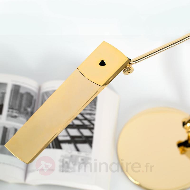 Katana - Lampe à poser LED dorée - Lampes de bureau LED