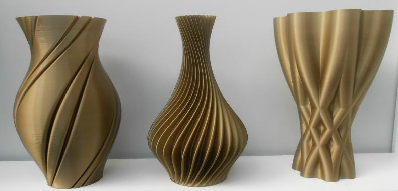 LOT DE 3 VASES - Vases Eco-friendly