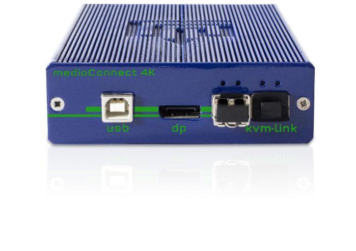 Media4Kconnect DP1.2 - 4K Extender over IP