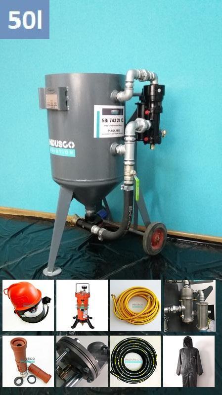Sandstrahlgerät SPEZIAL, CLEMCO Ausrüstung, Arbeitsschutz