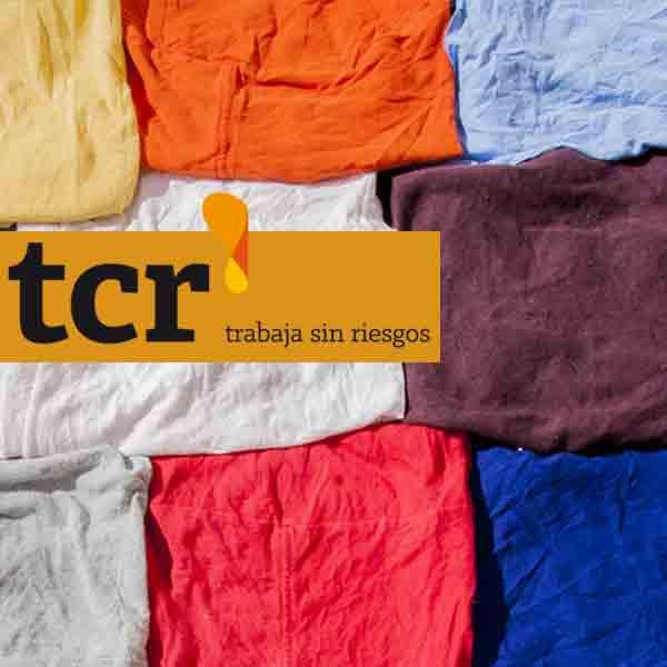 Trapo color camiseta 100% algodón
