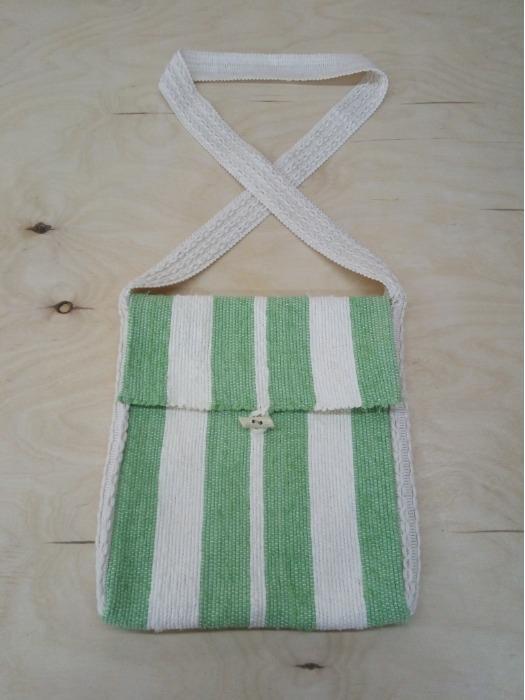 Messenger bag - 100% handmade! Eco style!