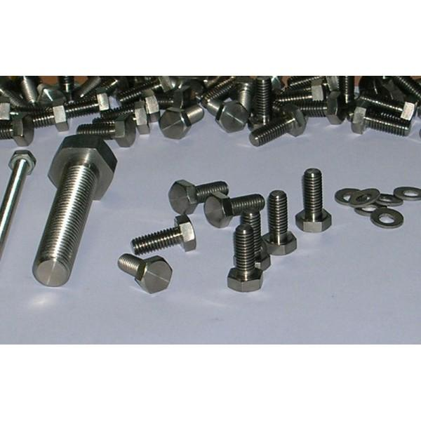 Titanium fasteners and screws - M10 - Titanium fasteners and screws - M10
