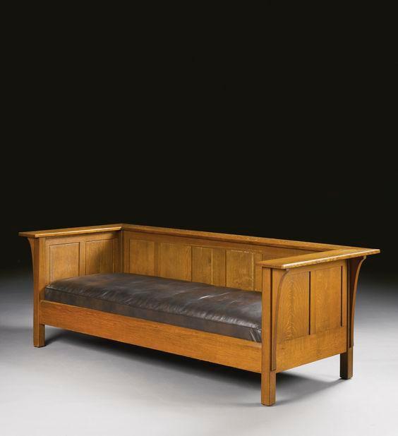Софа Рим - софа из дерева плюс подушки кожа