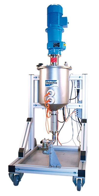 ViscoTreat-R / Preparation system and feeding system - Product supply / preparation of the medium by stirring and circulating