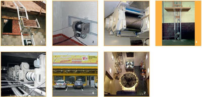 Treuils électriques - Treuil électrique 500kg à 960kg à commande basse tension avec 1 vitesse -