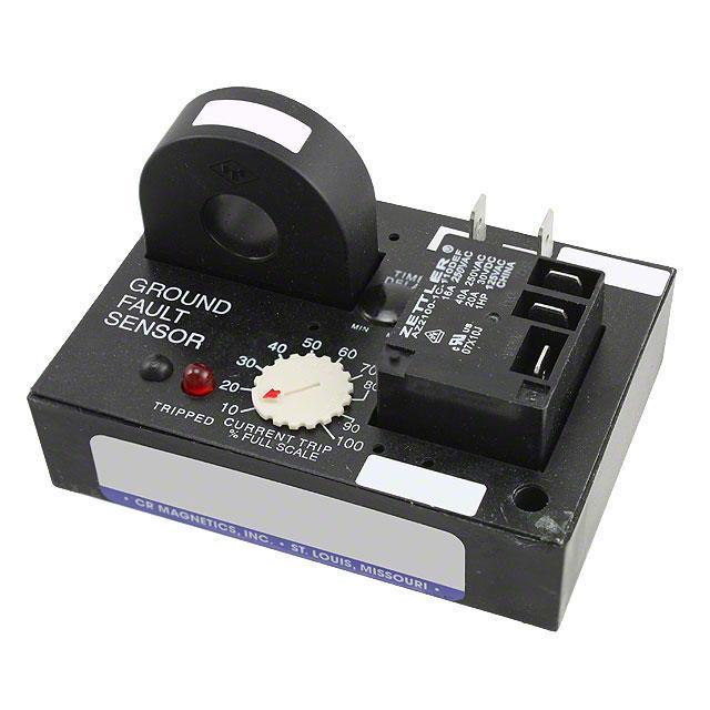 REL AC GROUND FAULT SENS 120VAC - CR Magnetics Inc. CR7310-EH-120-.01.1-X-CD-ELR-I