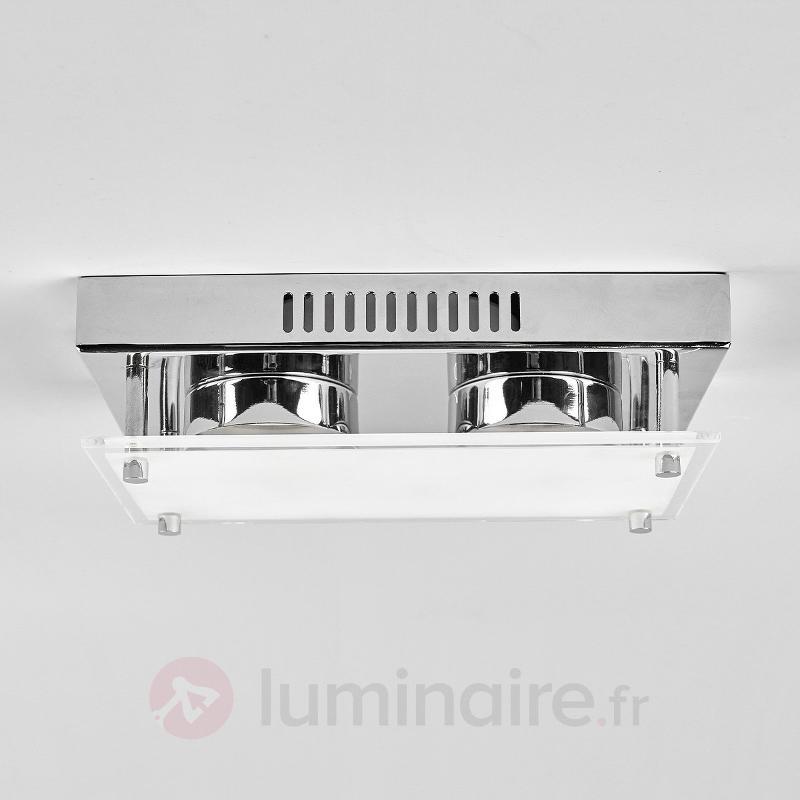 Applique LED Sheldon à deux lampes - Appliques LED