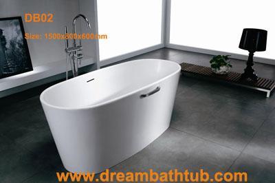 Corian bathtub - Corian bathtub, solid surface bathtub, free standing bathtub