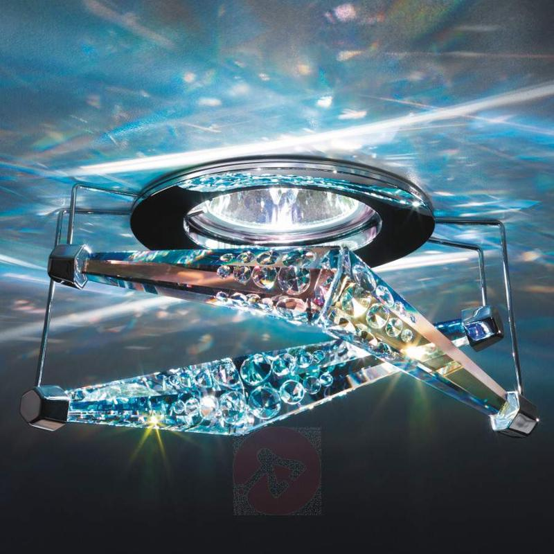 Melody recessed ceiling light with crystal - Low-Voltage Spotlights