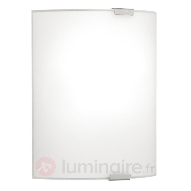 Plafonnier simple Grey avec verre - Plafonniers en verre