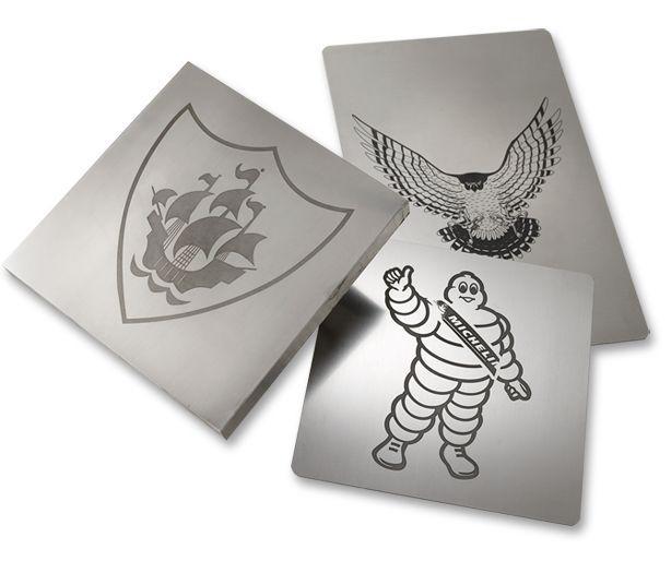 Pad Printing Steel Cliché Plates