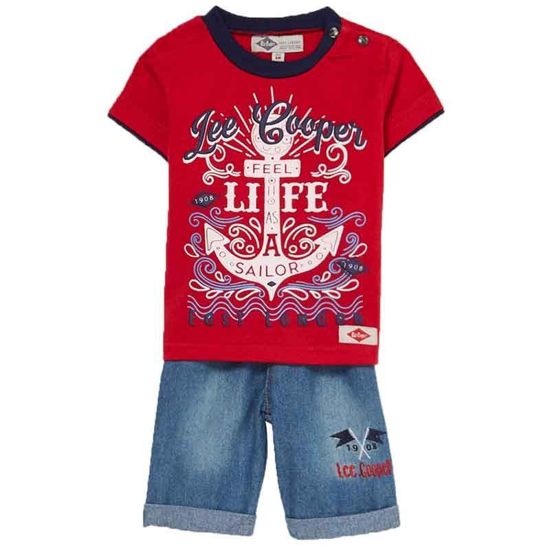 Manufacturer set of clothes baby licenced Lee Cooper - Summer Set