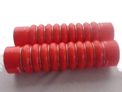 silicone hose with steel rings - null