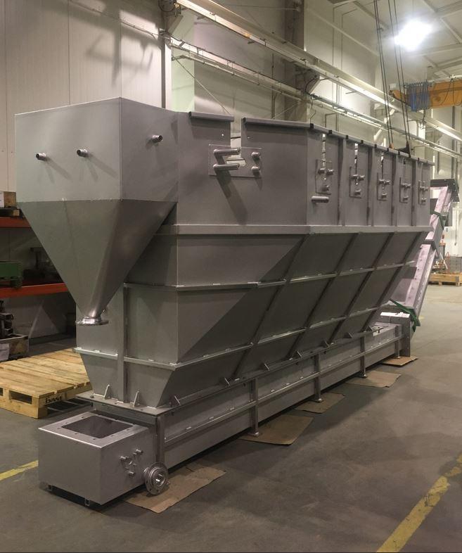 Zbiorniki stosowane w recyklingu odpadów PET - Zbiorniki stosowane w recyklingu odpadów PET