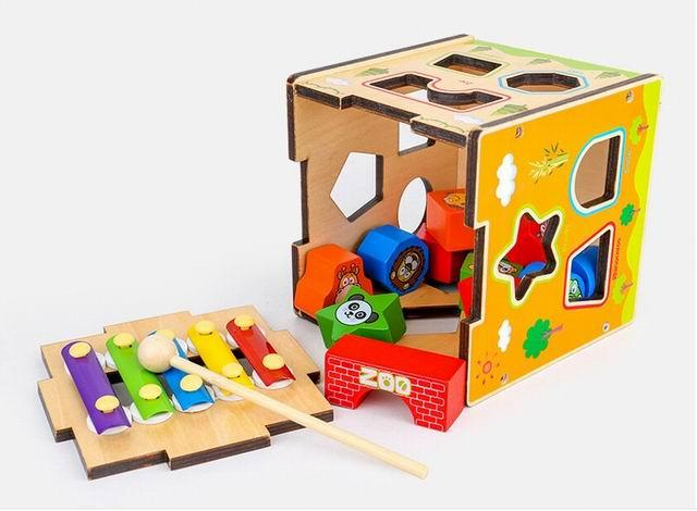 Wooden Educational Toy - Educational Toys