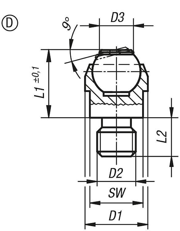 Podstawki wahliwe - K0282