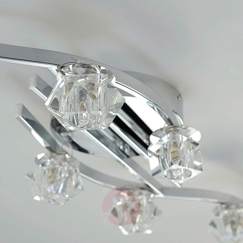 Eight-bulb ceiling light Henrika - indoor-lighting