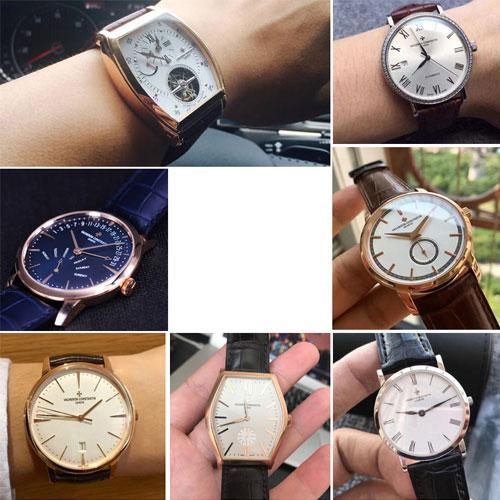 Vacheron Constantin Patrimony  Alligator Leather Watch Strap Collection - Alligator Watch Band