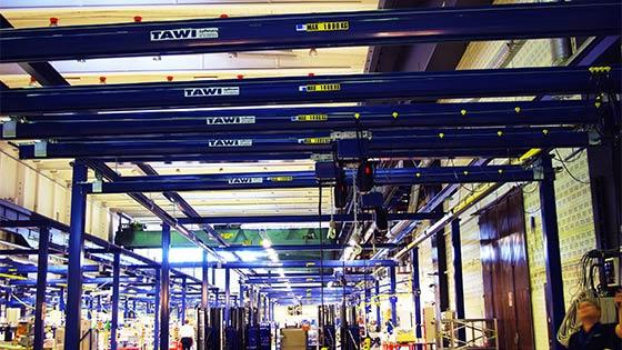 360 degrees electrically rotated jib cranes - null