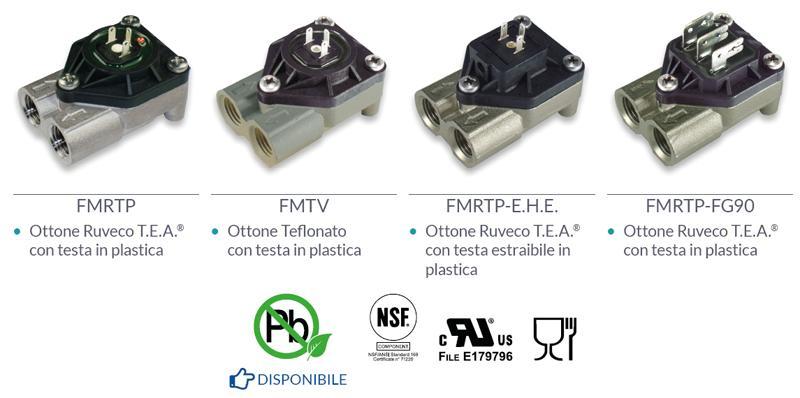 Modelli metallici-plastici - CONTATORI VOLUMETRICI