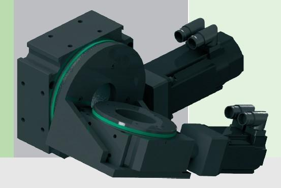 New Rotary Swivel Unit RT2A for flexible machine retrofitting - Rotary tables and rotation axis