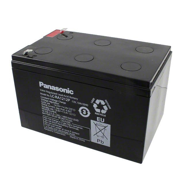 BATTERY LEAD ACID 12V 12AH - Panasonic - BSG LC-RA1212P