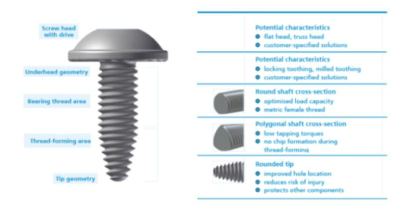 Direct screw fastening for sheet metals - Direct screw fastening for sheet metals / Sheetite® screws
