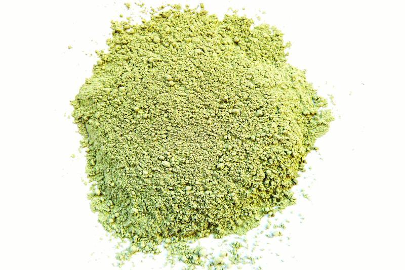 Green clay - Montmorillonite ; Illite