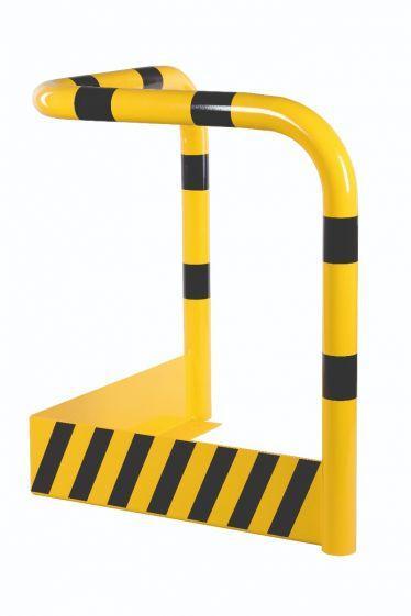 Arceau De Sécurité Anti-encastrement H 1000 X Jambe 900, Galvanisé Et Revêtu - Arceaux Et Protections