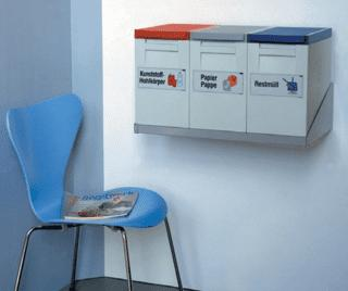 """""""oeco"""" modul - Waste and recyclables collection boxes - within little space"""