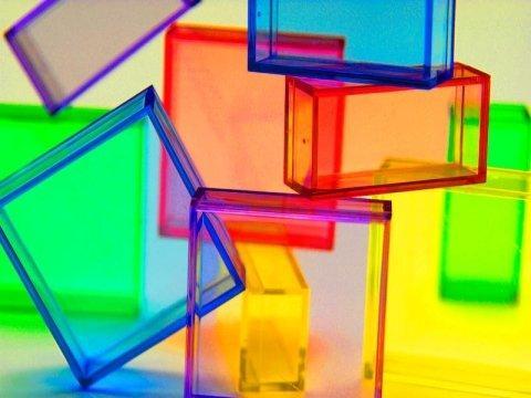 Materie plastiche acriliche - null