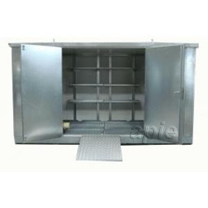 Entrepôts de stockage pour liquides polluants - Conteneurs & Entrepôts de stockage en rétention