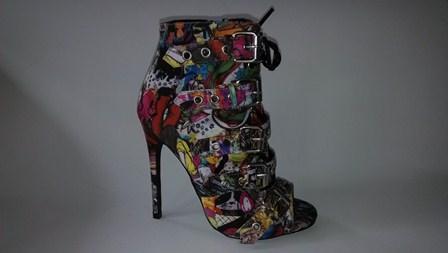 Zapatos de moda para mujer - Multicolor / 36-41