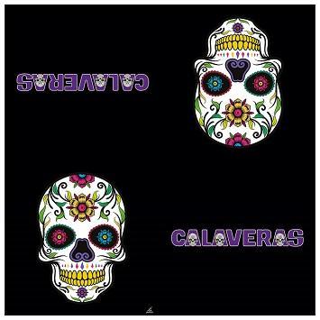 Servilleta Calaveras