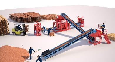 Автоматический вибропресс для производства стеновой камень  - Автоматическая Машина Prs 400 Мини Завод Для Производства Стенового Камня