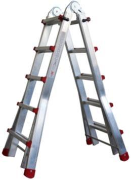 Escada Multiposições M75 Alumínio - Escada Multiposições Alumínio