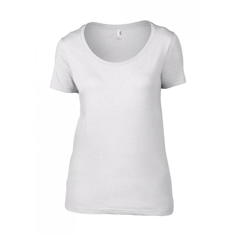 Tee-shirt Femme Featherweight Scoop - Manches courtes