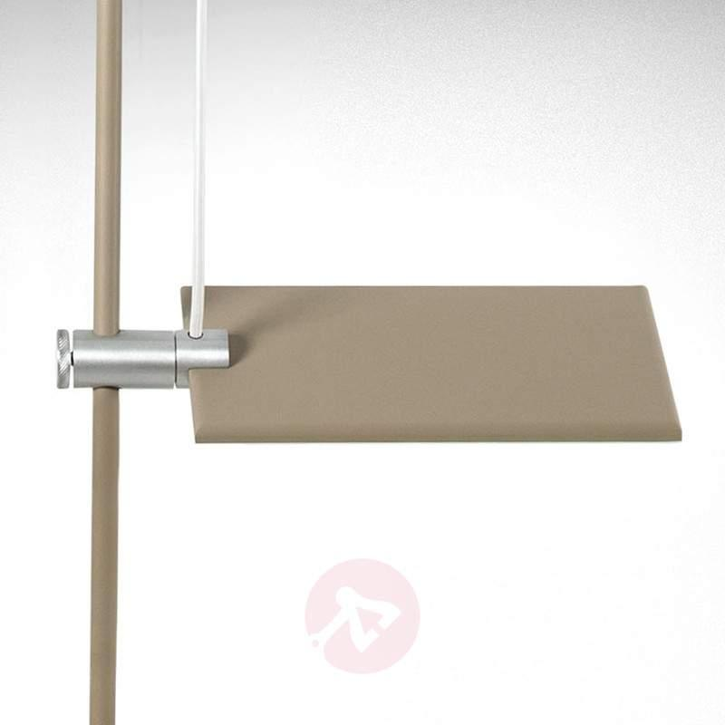 LED ceiling light GiuUp in grey, adjustable - Ceiling Lights