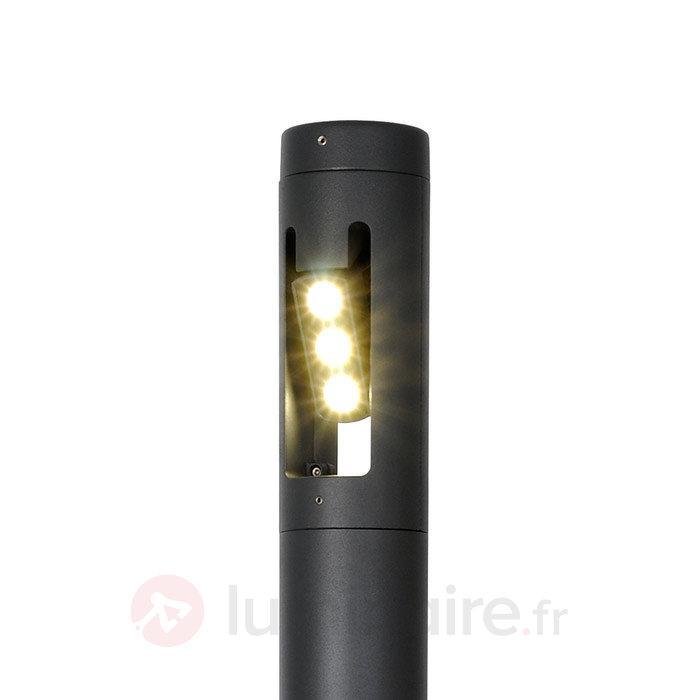 Borne lumineuse LED Cylin anthracite130 cm - Bornes lumineuses LED