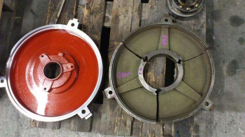 Usinage nouveau palier - Maintenance électro-mécanique en atelier